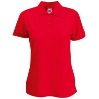 "Поло ""Lady-Fit 65/35 Polo"", красный_XS, 65% п/э, 35% х/б, 180 г/м2"