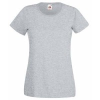 "Футболка ""Lady-Fit Valueweight T"", серо-лиловый_L, 97% хлопок, 3% п/э; 165 г/м2"