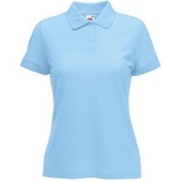 "Поло ""Lady-Fit 65/35 Polo"", небесно-голубой_M, 65% п/э, 35% х/б, 180 г/м2"